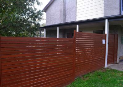 Aluminium fencing (Mount Colah)