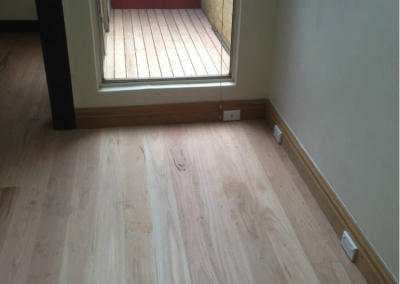 Blackbutt flooring and deck (Alexandria)