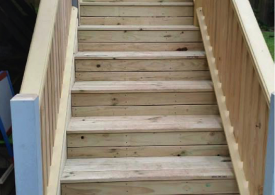 Treated pine stairs (Thornleigh)